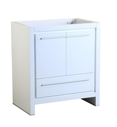 "Fresca FCB8130WH Allier 30"" White Modern Bathroom Cabinet"