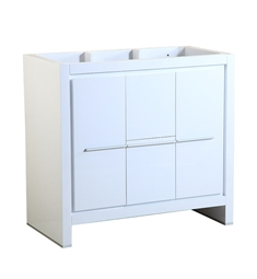 "Fresca FCB8136WH Allier 36"" White Modern Bathroom Cabinet"