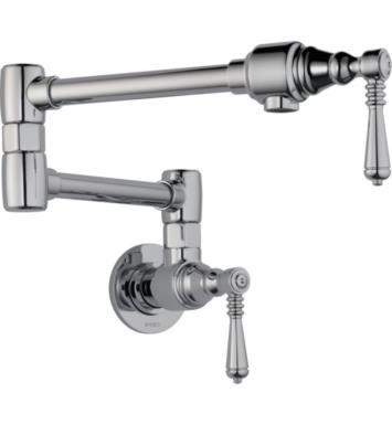 Brizo 62810LF-PN Brizo Traditional Pot Filler - Wall Mount With Finish: Polished Nickel
