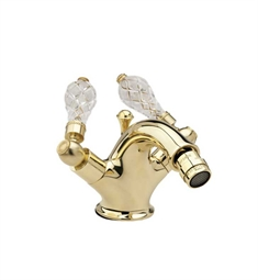 Phylrich Regent Cut Crystal Single Hole Bidet Faucet