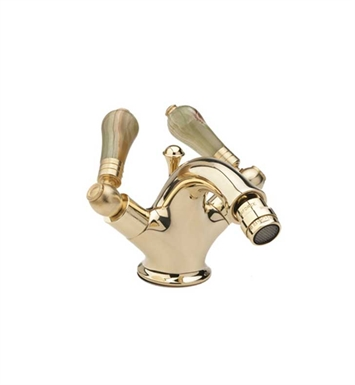 Phylrich K4540-060 Versailles Single Hole Bidet Faucet With Finish: Polished Brass with Satin Nickel