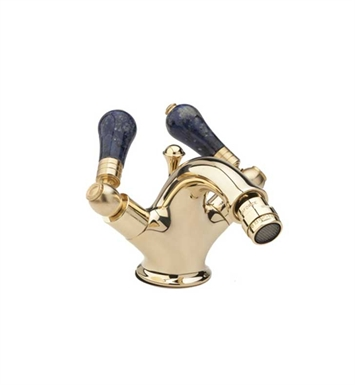 Phylrich K4542-084 Versailles Single Hole Bidet Faucet With Finish: Satin Gold with Satin Nickel