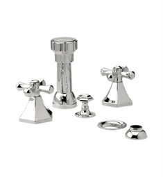 Phylrich Le Verre & La Crosse Four Hole Bidet Set