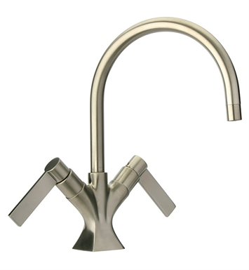 LaToscana 85PW250 Elix Single Hole Lavatory Faucet in Brushed Nickel
