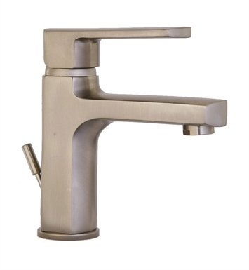 LaToscana 86PW211 Novello Single Lever Handle Lavatory Faucet in Brushed Nickel