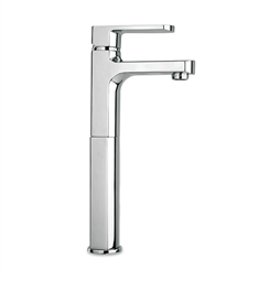 LaToscana Novello Tall Single Lever Handle Lavatory Vessel in Chrome
