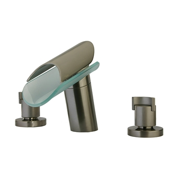 LaToscana 73PW214VR Morgana Widespread Lavatory Faucet in Brushed Nickel