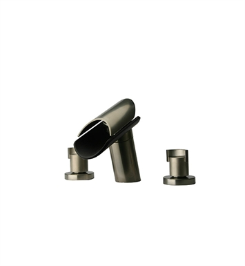 LaToscana 73PW102LZ Morgana Roman Tub Lavatory Faucet in Brushed Nickel