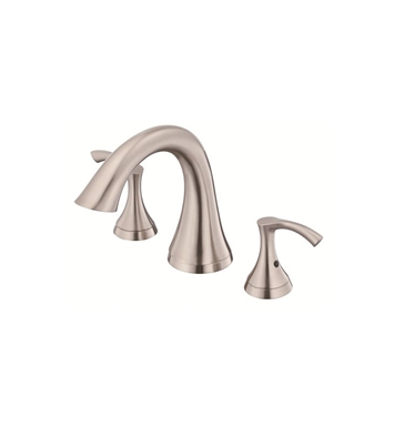 Danze D300922BNT Antioch™ Trim Only for Two Handle Roman Tub Faucet in Brushed Nickel