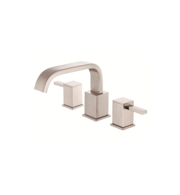 Danze D300933BNT Reef™ Trim Only for Two Handle Roman Tub Faucet in Brushed Nickel
