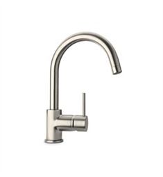 LaToscana Elba Single Handle Lavatory Faucet in Brushed Nickel