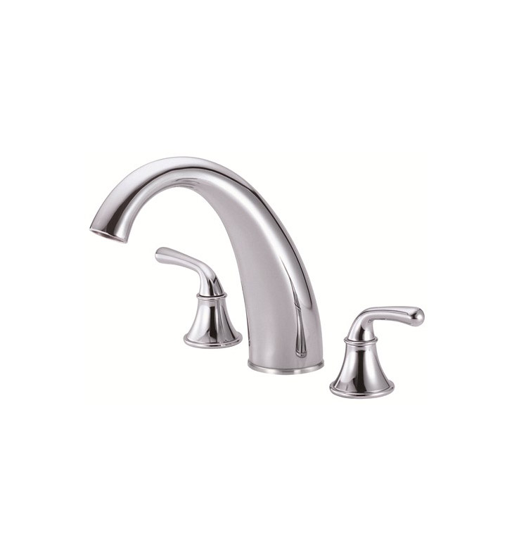 Danze D303656t Bannockburn Roman Tub Faucet Trim Kit In Chrome