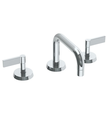 watermark 37 blue widespread bathroom faucet with lever