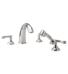 Phylrich 3Ring Kitchen Deck Set with Hand Shower