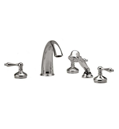 Phylrich Georgetown Kitchen Deck Set with Hand Shower