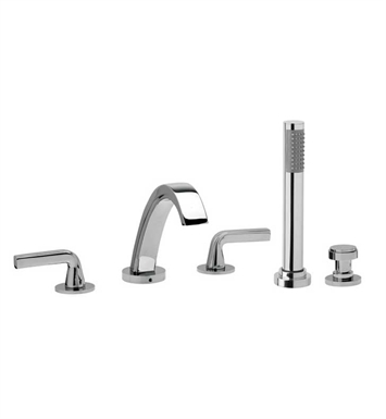 Phylrich K2112L1 Harper Kitchen Deck Set with Hand Shower