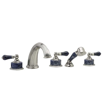 Phylrich K2272P1-026D Regent Kitchen Deck Set with Hand Shower With Finish: Satin Chrome