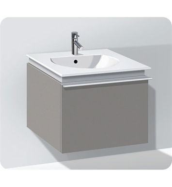Duravit DN64601831 Darling New Modern Wall-Mounted Bathroom Vanity Unit With Body Finish: Pine Silver And Front Finish: White Matt