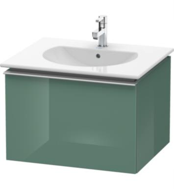 "Duravit DN6460 Darling New 23 5/8"" Wall Mount Single Bathroom Vanity with Two Glass Dividers"