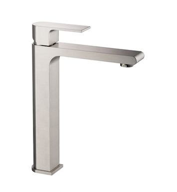 Fresca FFT9152BN Allaro Single Hole Vessel Mount Bathroom Faucet in Brushed Nickel
