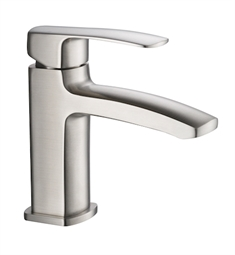 Fresca FFT9161BN Fiora Single Hole Mount Bathroom Faucet in Brushed Nickel