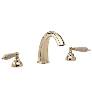 Phylrich K1158DT-OEB Carrara Bathroom Tub Set With Finish: Old English Brass