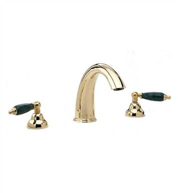 Phylrich K1158FT-093 Carrara Bathroom Tub Set With Finish: Polished Gold with Polished Nickel
