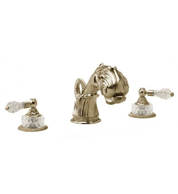 Phylrich K1184M-047 Dolphin Bathroom Tub Set With Finish: Antique Brass