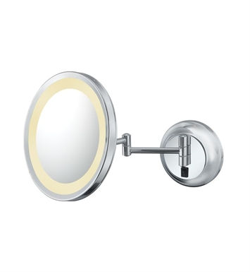 Aptations 924 Single-Sided LED Lighted Round Wall Mirror from the Kimball & Young Collection