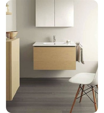 Duravit DL6230 Delos Wall-Mounted Modern Bathroom Vanity Unit