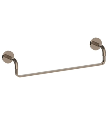 "Watermark 26-0.1-MB Brooklyn 18"" Towel Bar With Finish: Matte Black <strong>(USUALLY SHIPS IN 9-10 WEEKS)</strong>"