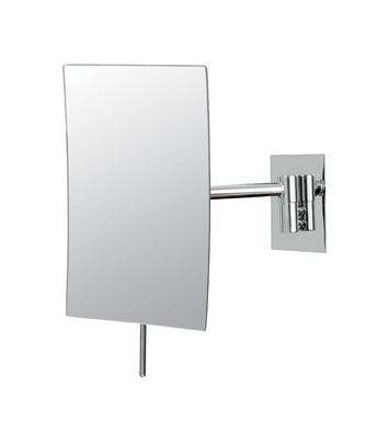 Mirror Image 21843 Minimalist Rectangular Wall Mirror 3X