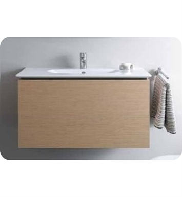 Duravit DL6233 Delos Wall-Mounted Modern Bathroom Vanity Unit - Pull-out Compartment Model