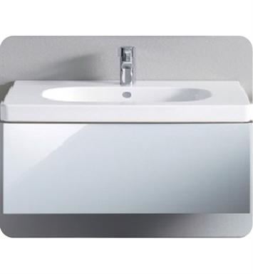Duravit DL6236 Delos Wall-Mounted Modern Bathroom Vanity Unit - Pull-out Compartment Model