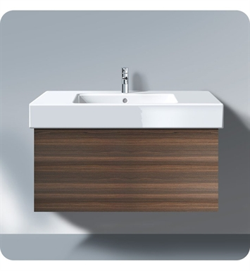 Duravit DL6222 Delos Wall Mount Modern Bathroom Vanity Unit - Pull-out Compartment Model