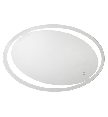 Aptations 32001HW Sergena Sol LED Back-Lit Wall Mirror with Touch Sensor With Color Temperature: 5,500 Kelvin