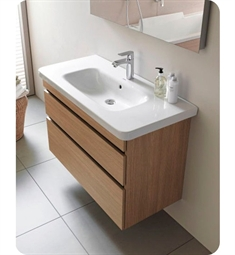 Duravit DuraStyle DS6482 Wall Mounted Modern Bathroom Vanity Unit