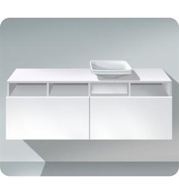 Duravit DS6785 DuraStyle Wall Mounted Modern Bathroom Vanity Unit with Countertop and Cut-out