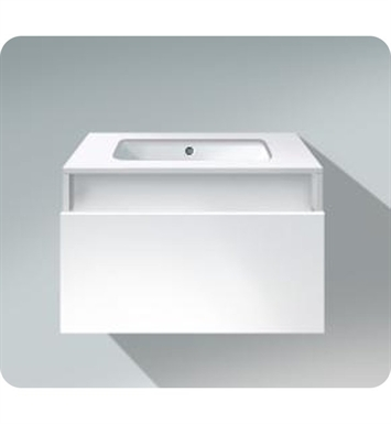 Duravit DS6883 DuraStyle Wall Mounted Modern Bathroom Vanity Unit