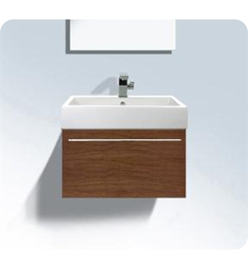Duravit FO9554 Fogo Wall Mounted Modern Bathroom Vanity Unit with Inner Compartment (Includes Glass Dividers and Box Drawers)