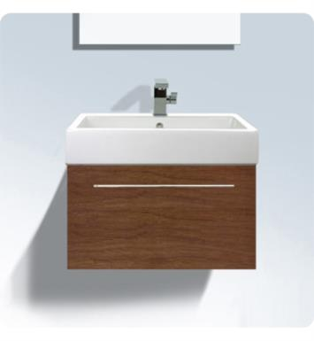 "Duravit FO9555 Fogo 29 1/2"" Wall Mount Single Bathroom Vanity with One Drawer"