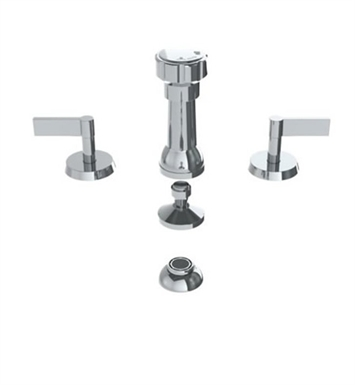 Watermark 37-4 Blue Four Hole Bidet Faucet