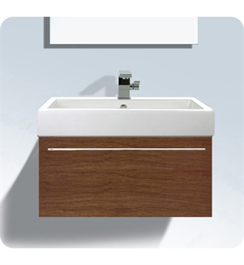 Duravit FO9557 Fogo Wall Mounted Modern Bathroom Vanity Unit with Inner Compartment (Includes Glass Dividers and Box Drawers)