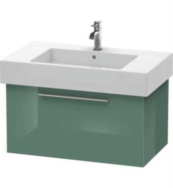 "Duravit FO9572 Fogo 31 1/2"" Wall Mount Single Bathroom Vanity with Three Glass Dividers"