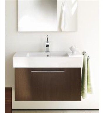 Duravit FO9572 Fogo Modern Bathroom Vanity Unit with Inner Compartment (Includes 3 Glass Dividers and 4 Box Drawers)