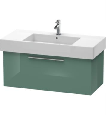 "Duravit FO9573 Fogo 39 3/8"" Wall Mount Single Bathroom Vanity with Three Glass Dividers"