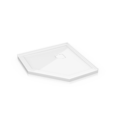 Fleurco ALN Neo Low Profile Acrylic Shower Base with Concealed Corner Drain