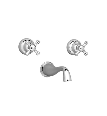 Phylrich D1103 Normandy Wall Mount Tub Set