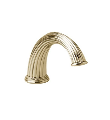 Phylrich K5141-24D Deck Tub Spout With Finish: Satin Gold Antiqued