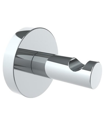 Watermark 31-0.5-VC Brooklyn Robe Hook With Finish: Velvet Chrome <strong>(USUALLY SHIPS IN 8-9 WEEKS)</strong>
